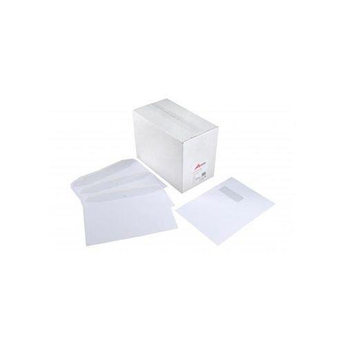 Autofil Envelope White Wove 90gm C5 162x229mm Gummed Flapped Window Boxed 500