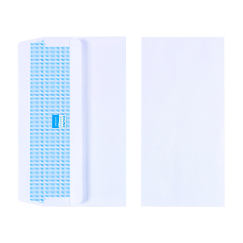 Initiative Envelope DL Self Seal 90gsm White Pack 1000