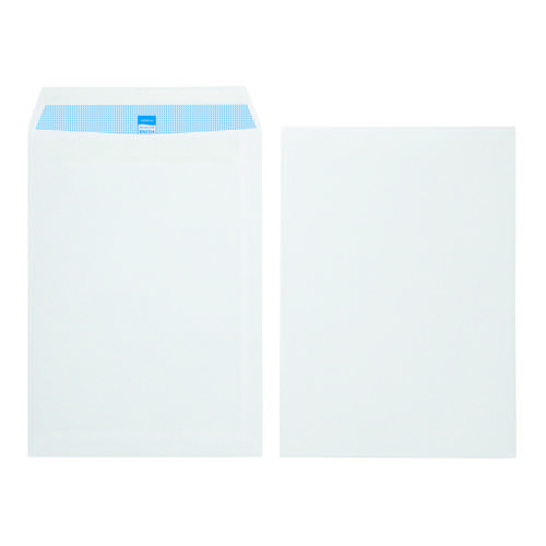 Initiative Envelope C4 Self Seal 100gsm White Pack Pack 250