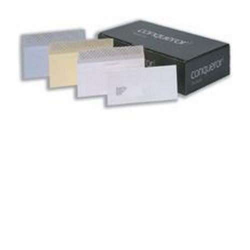 Conqueror Wove Cream DL Envelope FSC4 110X220mm Super/Seal Bnd 50 Window 22Up 17Lhs