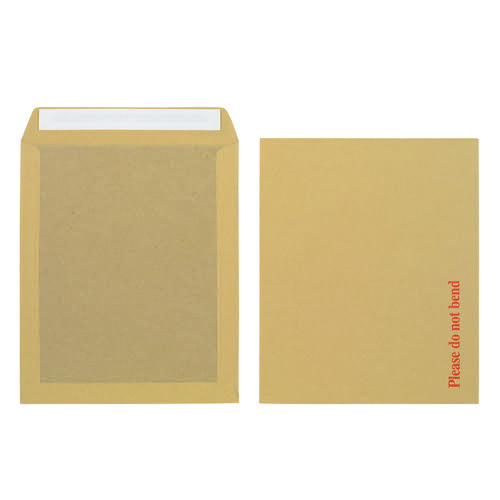 Initiative Envelope Boardbacked Peel & Seal 318 x 267 115gsm Manilla Pack 125