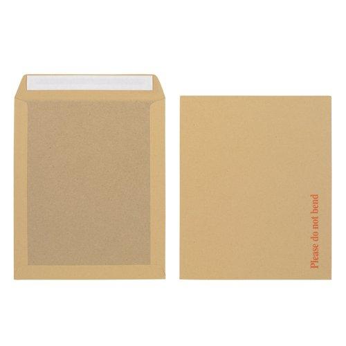 Initiative Envelope Boardbacked Peel & Seal 318x267mm 115gsm Manilla Pack 125