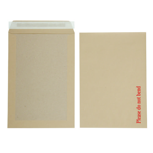 Initiative Envelope Boardbacked Peel n Seal C4 115gsm Manilla Pack 125