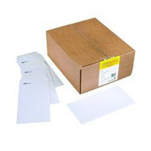 Spey Envelope White Wove 90gm DL 110x220mm Self Seal Window Pack 1000