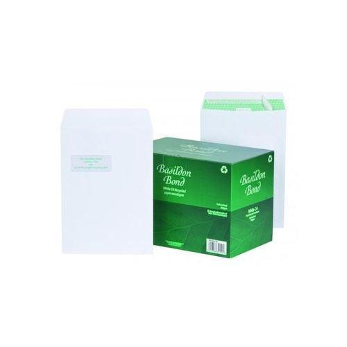 Basildon Bond Envelope C4 Window White 120gsm  Pack 250