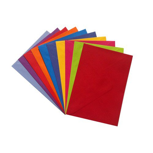 Vibrant Wallet Envelope C6 114x162mm Superseal Deep Blue 120gsm Boxed 500