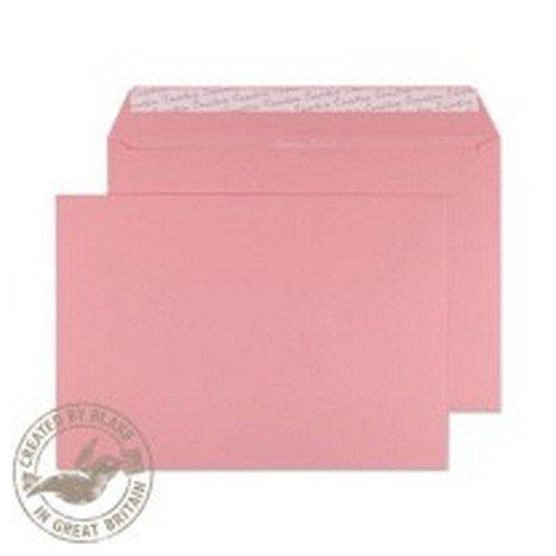 Pastel Wallet Envelope C4 229x324mm Superseal Baby Pink 120gsm Boxed 250
