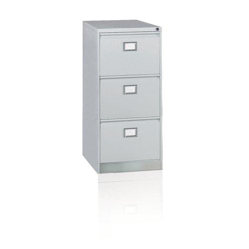 Context 3 Drawer Filing Cabinet Goose Grey AOC3-av4