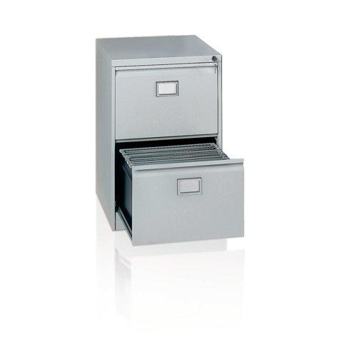 Context 2 Drawer Filing Cabinet Goose Grey AOC2-av4
