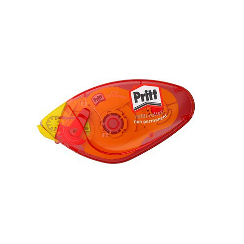 Pritt Glue-It Roller Instant Adhesive Non-permanent Refillable Precise Mess-free Transparent