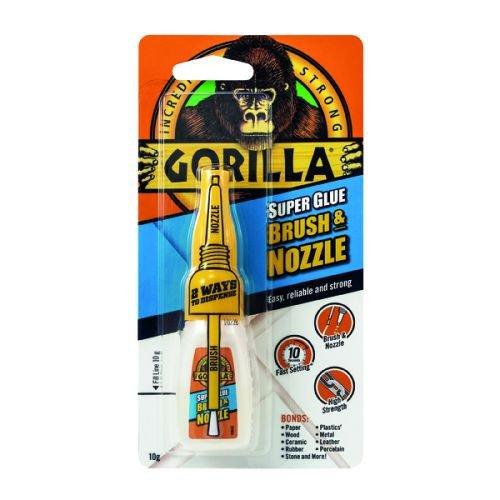 Gorilla Super Glue 10g Brush & Nozzle