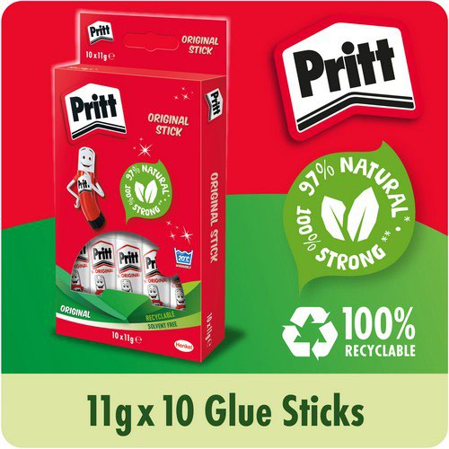 Pritt Stick Glue Solid Washable Non-toxic Standard 11g