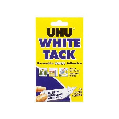 UHU White Tack Mastic Adhesive Non-Staining Handy Pack