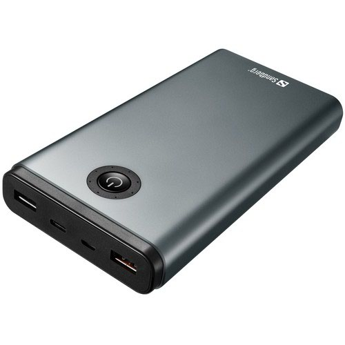 A Powerful Powerbank In Aluminium Featuring High Speed Great Performance And Huge Capacity.