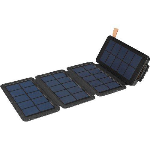 Sandberg Solar 4Panel Powerbank 12000 Is A High-Capacity Powerbank And A Foldaway Solar Panel.