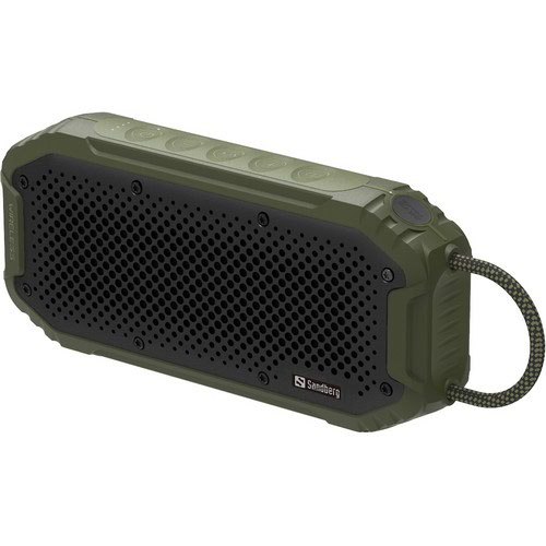 Sandberg Waterproof Bluetooth Speaker Is The Ideal Companion For Your Smartphone Or Tablet.