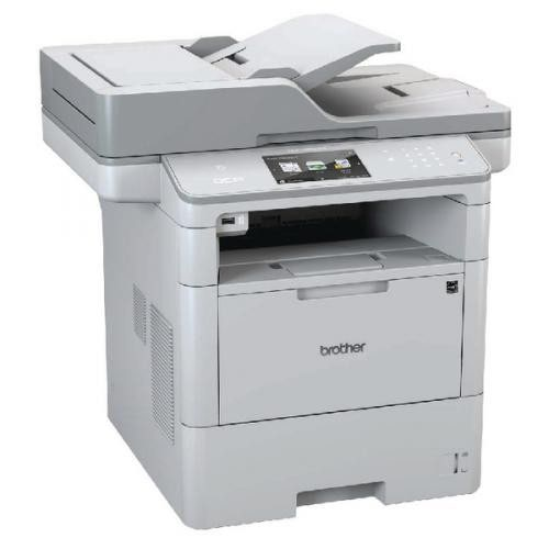 Brother Mono DCP-L6600DW Grey Multifunction Laser Printer DCP-L6600DW
