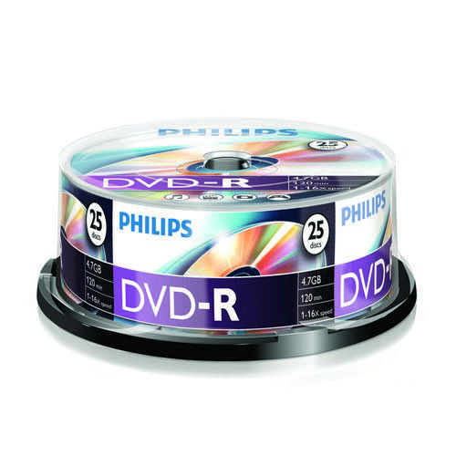 Philips CD-R 700mb 52x Jewel Case 10 Disks