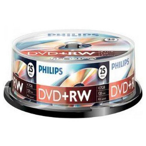 Philips DVD+R 4.7GB 16x Spindle 25 Disks