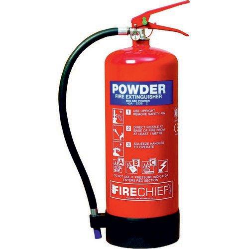 Spectrum Industrial Fire Extinguisher ABC Powder 9kg 14369