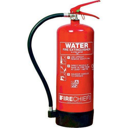 Spectrum Industrial Fire Extinguisher Water 6 Litre 14355