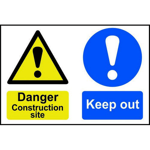 Self adhesive semi-rigid PVC Your First Aider Is/Located sign (300 x 200mm). Easy to fix  simply pee