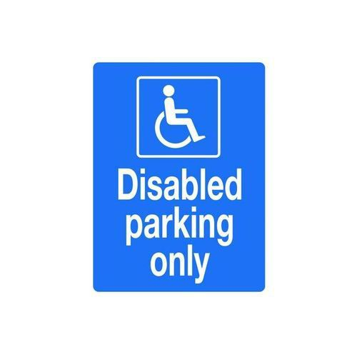 Disabled Parking Only 400x300