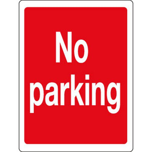 No Parking Safety Sign PDF11 400x300mm