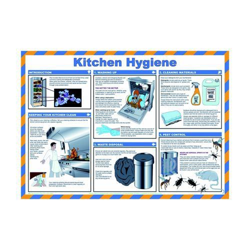 General Sign 420x590mm Kitchen Hygiene