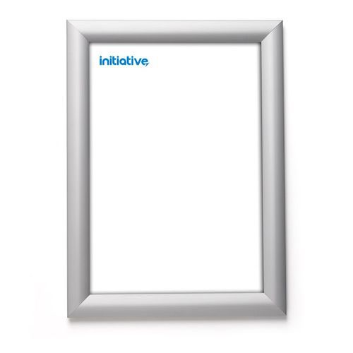 Initiative Snap Frame A4 Silver