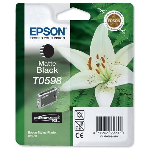 Epson Stylus R2400 Photo Ink Cartridge Matte Black C13T059840