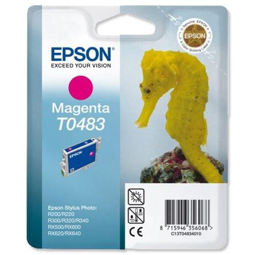 Epson Stylus Photo R200/R300/RX-500/RX-600 Ink Cartridge Magenta T048340