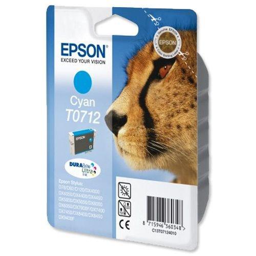 Epson Durabrite Inkjet Cartridge Cyan T07124010 Inkjet Cartridges IJ1905