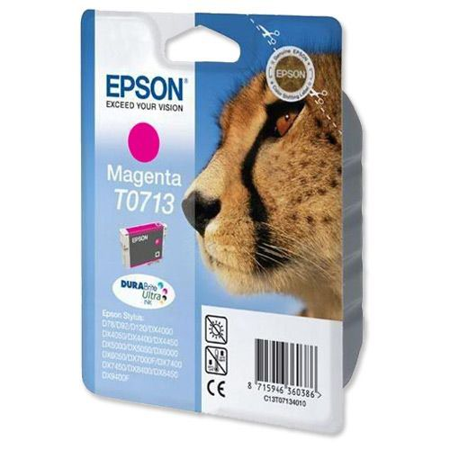 Epson Ink Cartridge Cheetah Magenta T07134010