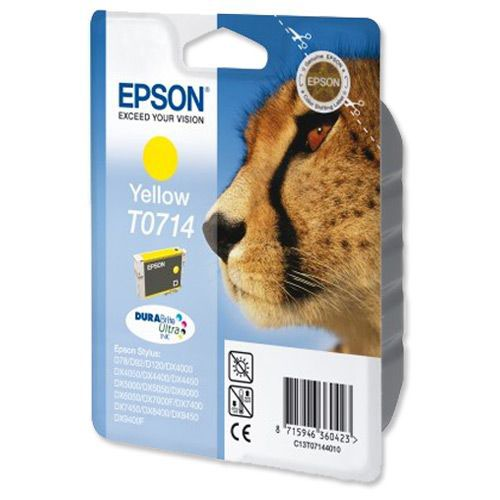 Epson Durabrite Inkjet Cartridge Yellow T07144010