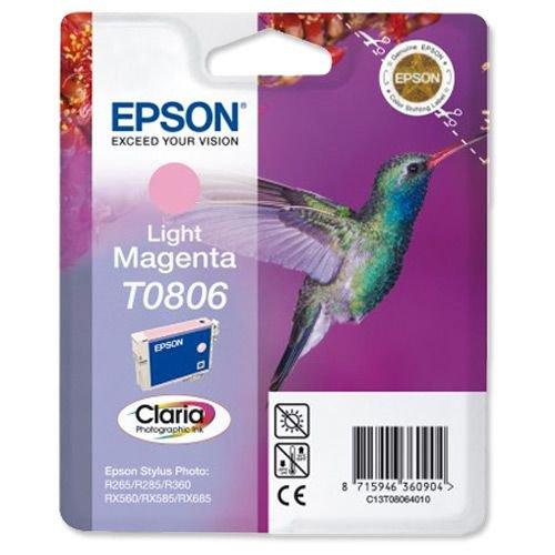 Epson Inkjet Cartridge Photo Light Magenta C13T08064010