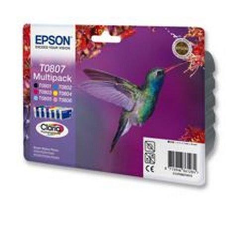 Epson Inkjet Cartidge Multipack Black and 5 Colours C13T08074010