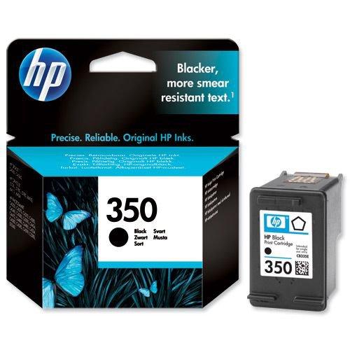 Hewlett Packard No.350 Inkjet Cartridge 52g Black CB335EE