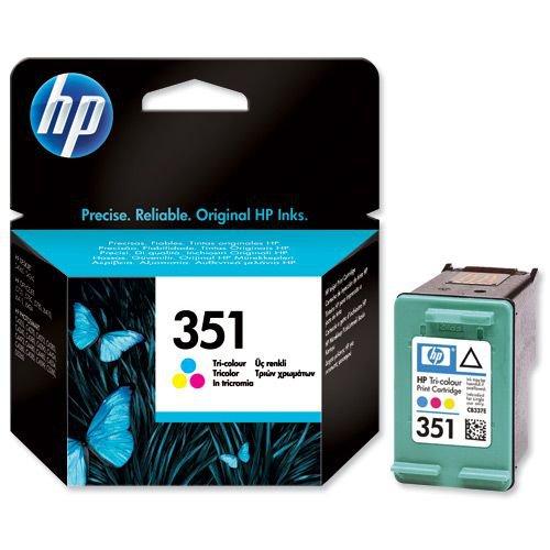 Hewlett Packard No.351 Inkjet Cartridge 58g Colour CB337EE