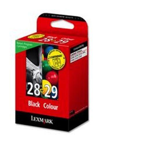 Lexmark Combo pack 28 & 29 Black & Colour Return Program Cartridges 018C1520E