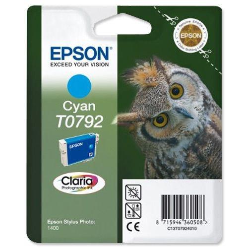 Epson Stylus Photo 1400 Photo Ink Cartridge Cyan T079240