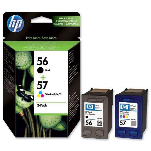 Hewlett Packard No 56/57 Ink Cartridge Black/Colour SA342AE