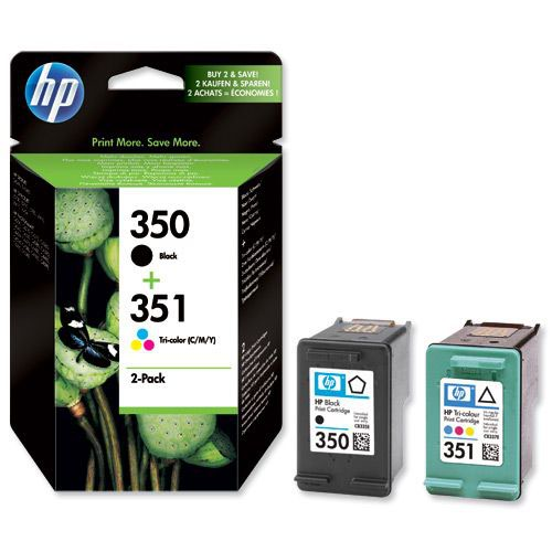 Hewlett Packard No 350/351 Ink Cartridge Black/Colour SD412EE