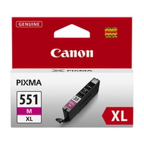 Canon 6445B001 CLI551XLM Magenta Ink Cartridge