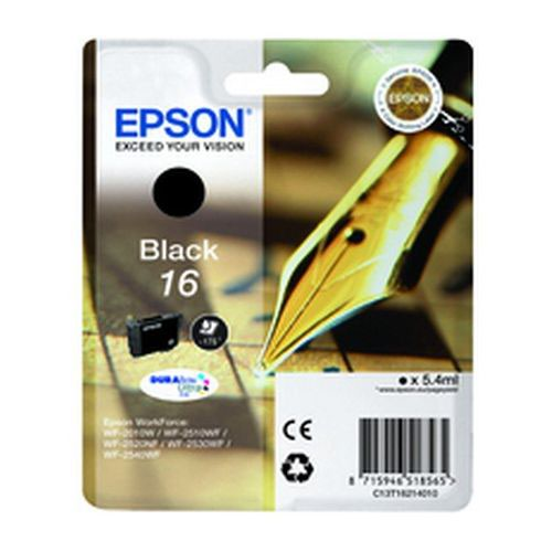 Epson T162140 16 Series Black Ink Cartridge