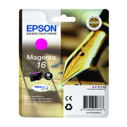 Epson T162340 16 Series Magenta Ink Cartridge Inkjet Cartridges IJ2566