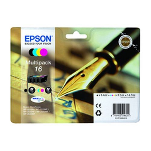 Epson T162640 16 Series Multi Pack Ink Cartridges Black/Cyan/Magenta/Yellow