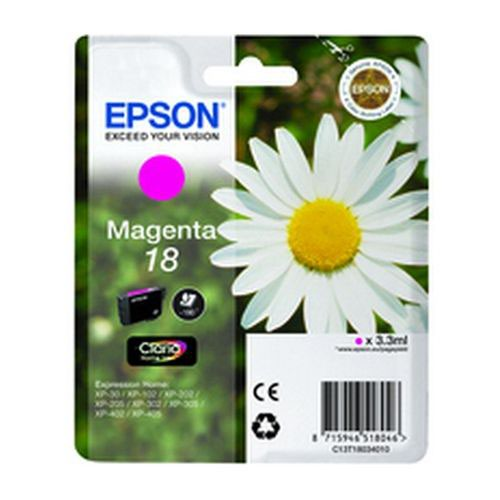 Epson T180340 18 Series Daisy Magenta Ink Cartridge