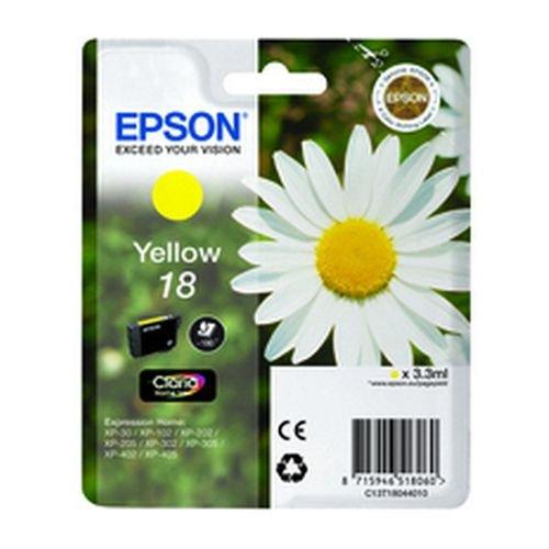 Epson T180440 18 Series Daisy Yellow Ink Cartridge
