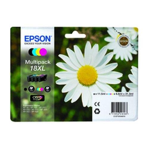 Epson T181640 18XL Series Daisy Multi Pack Inks Black/Cyan/Magenta/Yellow